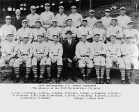 Philadelphia A's 1930 World Champions, 8x10 Team Photo