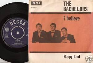 THE-BACHELORS-I-BELIEVE-DANISH-45-PS-1964-BEAT