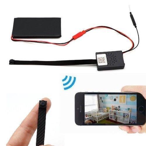 64GB Full HD Cámara Detector de Movimiento Live App Mundial rojo P2P Hotspot A300