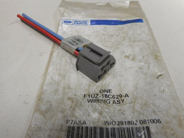 f1uz18c629a heater switch wiring harness ford f350 e350 ebay voltage regulator wiring f1uz18c629a heater switch wiring harness ford f350 e350