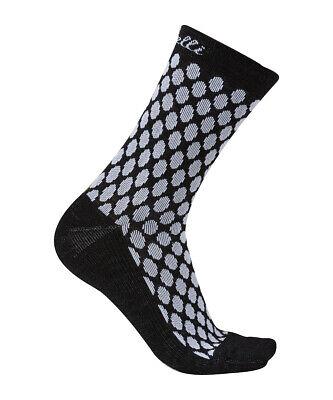 Castelli RIGHINA 13 cm Tall Cuff Wool Womens Cycling Socks LAGUNA One Pair