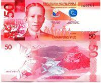 PHILIPPINES 50 PISOS 2010 (2011) P-207a UNC