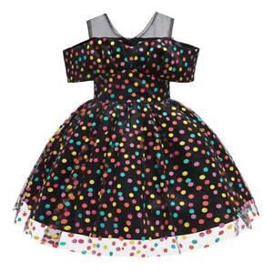Baby-Girl-Polka-Dot-Princess-Tutu-Dress-Wedding-Party-Casual-Summer-Off-Shoulder