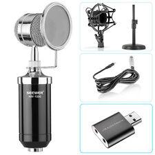 Neewer Desktop Condenser Microphone for Windows Computer and Mac