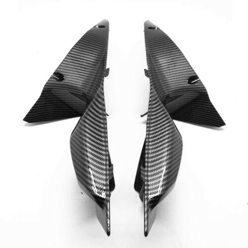 Upper Front Dash Air Intake Fairing Cowl Carbon Fiber For Ducati 848 1098 1198