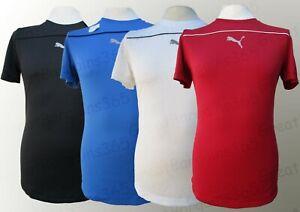 Mens-Puma-Sports-T-Shirt-Top-Running-Gym-DryCell-Red-White-Blue-Black-S-M-L-XL