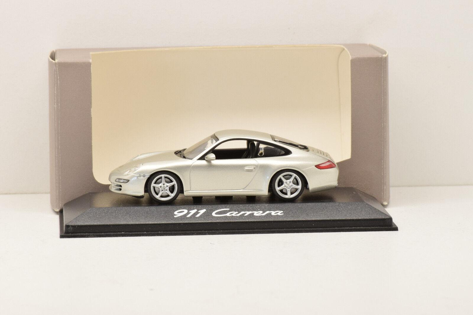 PORSCHE 911 CARRERA 2004 MINICHAMPS 1 43 NEUF EN BOITE PROMOTIONNELLE