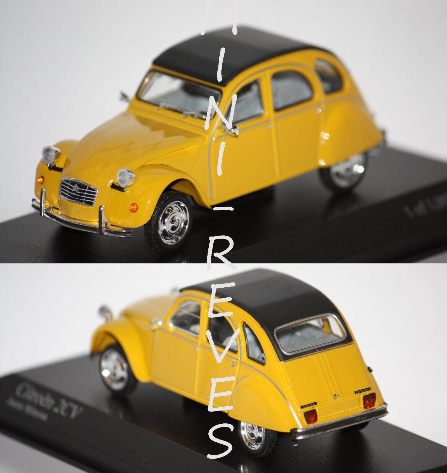 alta qualità generale Minichamps Minichamps Minichamps Citroën 2cv 1980 Gituttia 1 43 400111502  Negozio 2018