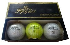Collezione Tommy Armour Flying Scot signature firma palline golf bianco giallo