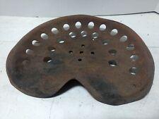 Vintage Metal Tractor Seat Round Holes 5 Center Bolt Mount Pressed Steel Horse
