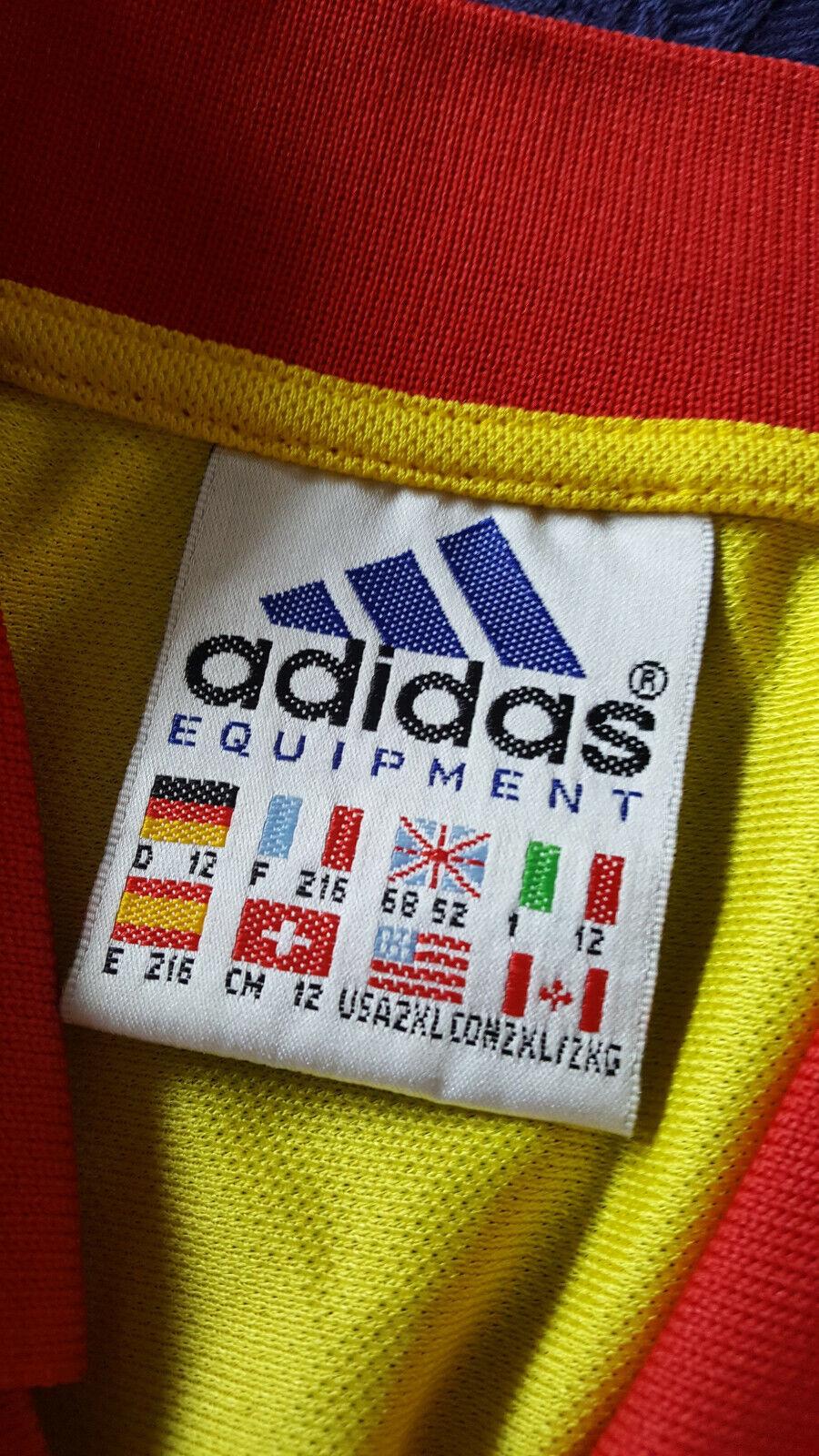 Maglia Roemannenië Hagi adidas EQUIPEMannenT player issue Uefa EURO 2000 shirtadidas