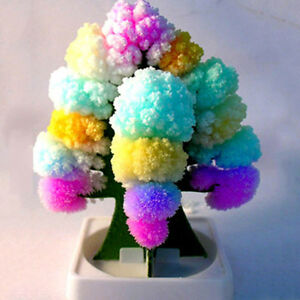 Kids-MAGIC-CRYSTAL-GROWING-TREE-KIT-Christmas-Paper-Decoration-Science-Toy-Gift