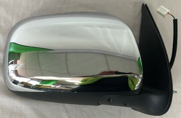 TOYOTA HILUX PICK UP 4WD 2012-2015 Wing Mirror Electric Chrome Offside R/H