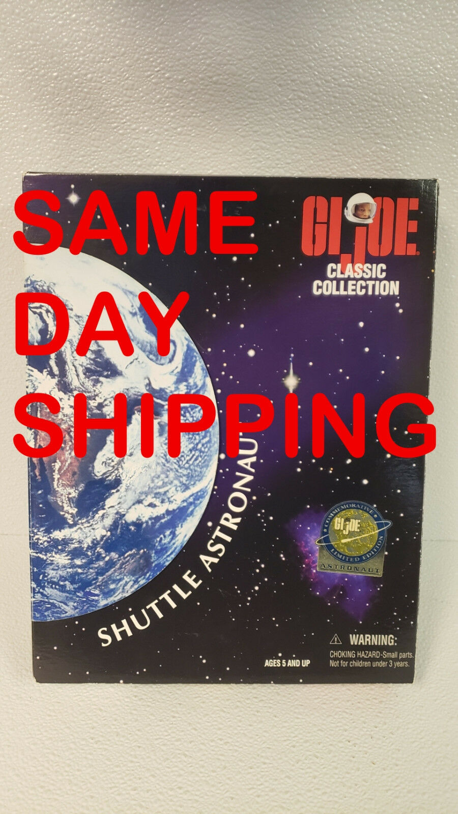 Gi - joe classic collection shuttle - astronaut posten 800204-r2