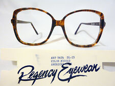 Regency By Tart Optical Vintage Unisex Eyeglass Frame Art-3416 Brown Demi 56-15