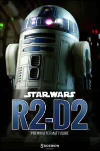 Star Wars Sideshow Collectibles A New Hope R2-D2 Premium Format 1 4 Scale Statue
