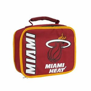 Image is loading NBA-Miami-Heat-Sacked-Insulated-Lunch-Cooler-Bag 6f24765ab2485