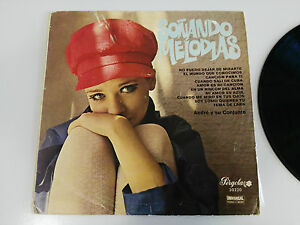 """Soñando Melodien Andre Y Su Conjunto LP Vinyl 10 """" Pergola 1969 Spanisch Edition"""