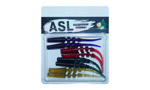 ASL Baxi 5cm fishing lures edible silicone range of colors