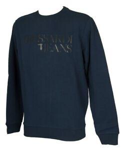 Felpa-maglia-manica-lunga-uomo-cotone-TRUSSARDI-JEANS-articolo-52F00096-PURE-COT