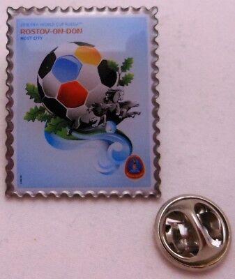 Fußball FIFA Weltmeisterschaft 2018 Rußland Plakat #6 Pin // Anstecker 95