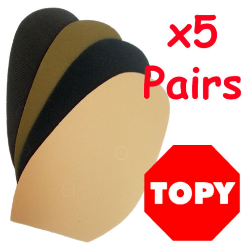 TOPY RUBBER SOLES BULK PACK x 5pr Industrial Grade Mens Ladies AU SELLER !!