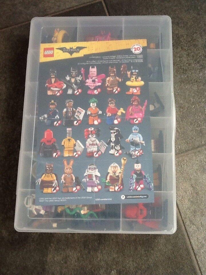 Lego batman minifigures minifigures minifigures full set in case 61911c