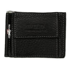 Dollar-Clip-Purse-Black-Leather-Purse-Money-Clip-OPJ121S