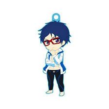 Free! - Iwatobi Swim Club Rei Swim Suit Rubber Phone Strap Charm NEW