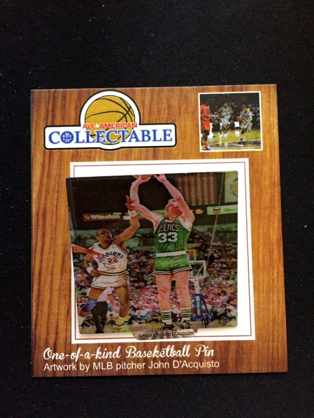 Boston Celtics Larry Bird Revers Pin-Limited Pin-Limited Pin-Limited Edition-2-CLASSIC Hartholz Legende    Günstige Bestellung  5459a6