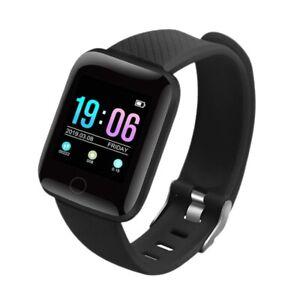 A6S Smart Bracciale Fitness Tracker Frequenza Cardiaca Monitor Della Pressi T8H4