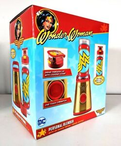DC-Comics-Wonder-Woman-Personal-Blender-McQueen-Brand-new-DCW-700CN