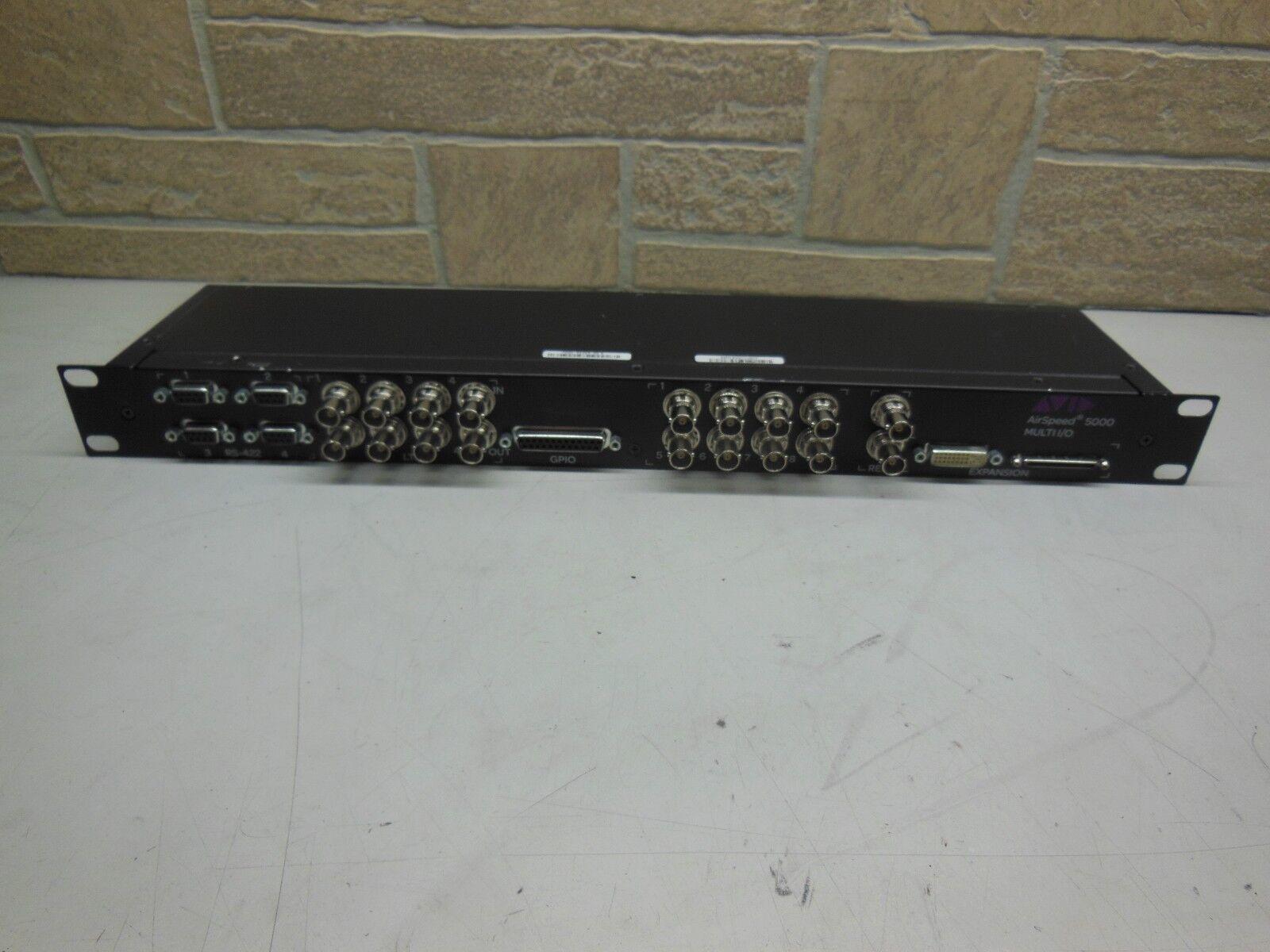 Avid AirSpeed 5000 MULTI I O 7020-30353-00 A