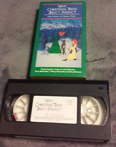 Why Christmas Trees Arent Perfect.Details About Why Christmas Trees Aren T Perfect Story Of Small Pine Vhs Tape Hard To Find