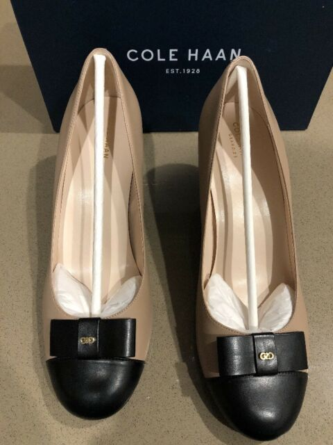 9ab84c9d1750 NEW WITH BOX Cole Haan Elsie Bow Wedge (65mm) Size 10.5 Women s USA MSRP