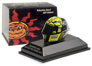Casque Minichamps Valentino Rossi - Essai Motogp Sepang 2013 au 1/8 4012138123151