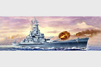 Trumpeter 5761 Uss Massachusetts Bb-59 1/700 Scale Plastic Model Kit