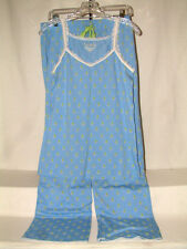 "#54 SUPER CUTE PJ SET FROM BAY STUDIO, SZ SMALL TOP 35"" BUST, SZ MED BOTTOM"