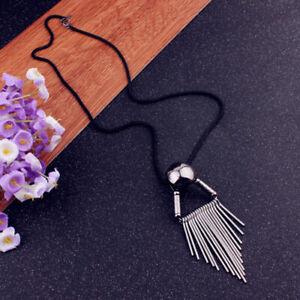 New-Women-Long-Chain-Costume-Jewelry-Tassel-Pendant-Sweater-Necklace