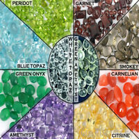 Choose Your Carat Natural Loose Faceted Gemstone Lot, All Shape Sizes Mixed Gems