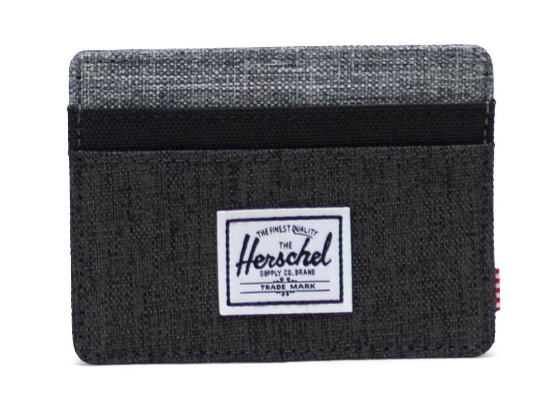 Herschel Charlie RFID Wallet Geldbörse Schwarz
