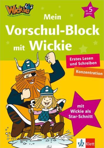 1 von 1 - Mein Vorschul-Block mit Wickie (2015, Blätter)