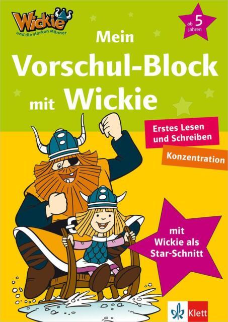 Wickie und die starken Männer - Mein Vorschul-Block mit Wickie, Erstes Lesen, Sc