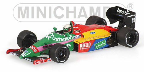 Benetton Ford B187 T.Fabi 1987 (Minichamps 1 43   400 870019)