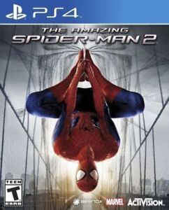 The-Amazing-Spider-Man-2-GAME-Sony-Playstation-4-PS-PS4-FREE-SHIPPING