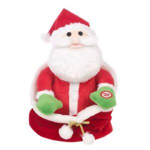 Il-laboratorio-di-Natale-nascondere-Peluche-Babbo-Natale-in-Giftbag-Natale-Decorazione-ANIMATA