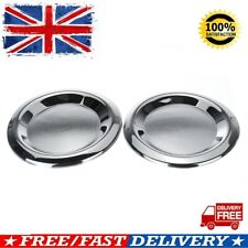 Pair Front Chrome Fog Lamp Covers Trim For Mercedes-Benz Vito W447 2014-2018