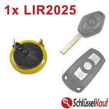 1x Batterie Akku LIR2025 für BMW Schlüssel E60 E81 E91 E92 X5 Z4 E39 E46 E52 E90