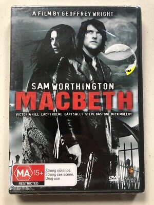 Macbeth Sam Worthington Gary Sweet Dvd 2007 Region 4 New Sealed Ebay