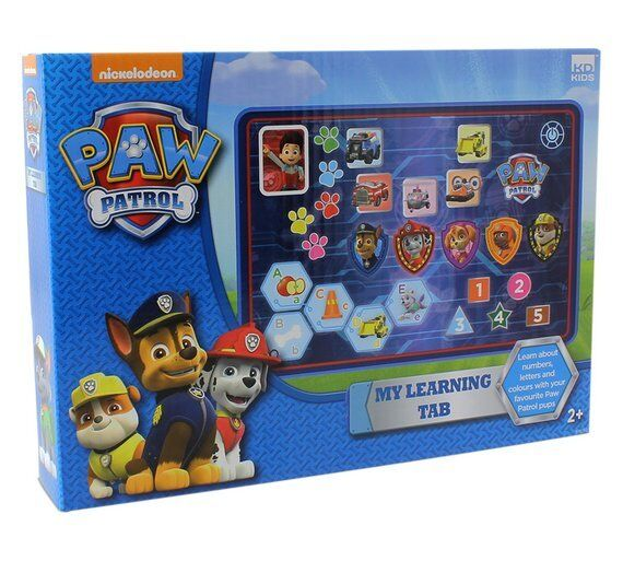 PAW Patrol Learning Tablet Touch A Game Mode Then Listen To Question And Touch